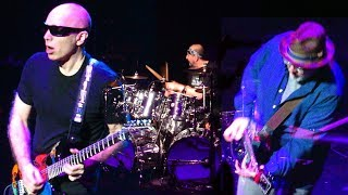 "G3 2018~Band Intros, ""Cherry Blossoms"" & ""Satch Boogie"" JOE SATRIANI @ Hobby Center  HouTX"