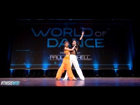 DNA - Denys and Antonina performing Samba at World of Dance NY 2017
