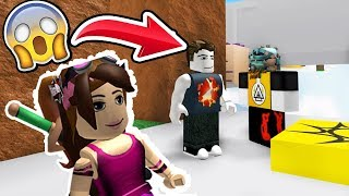 NATALIA AND I PLAY ROBLOX FIRST | ROBLOX