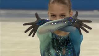 Чемпионат мира среди юниоров 2018. FS. Саша Трусова