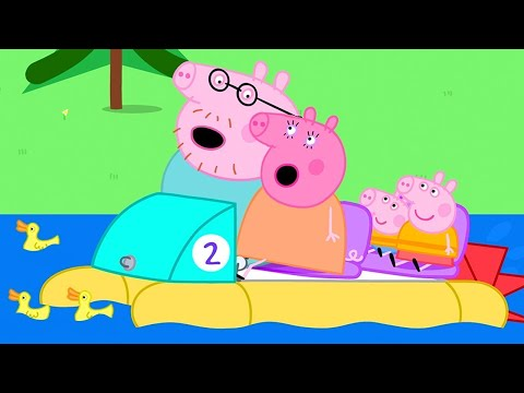 Peppa Pig Official Channel ⛵️ Going Boating With Peppa Pig   Family Day Special