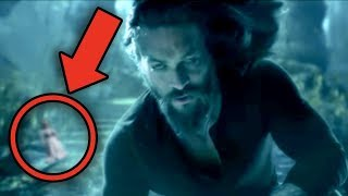 AQUAMAN Full Movie Breakdown! Easter Eggs & Details You Missed!