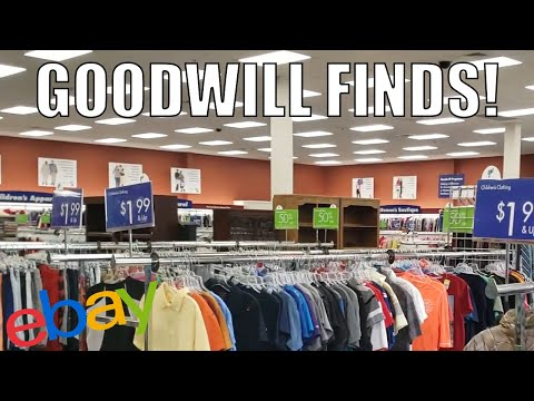 Thrifting Local Goodwill | Finding Stuff to Sell On Ebay and Amazon FBA!