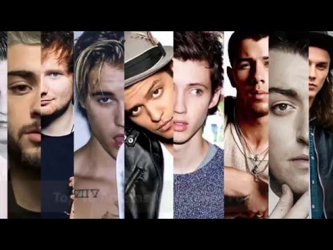 Top 10: Artistas Masculinos de Música Pop, R&B y Rock. What is your favorite