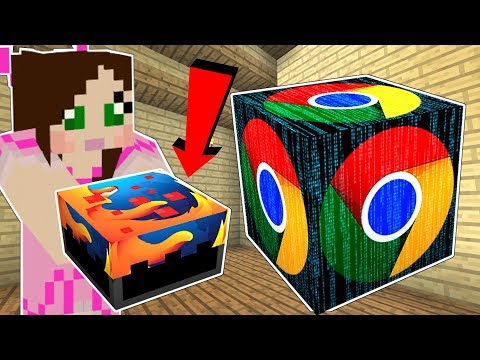 Minecraft: LUCKY BLOCK PROGRAMS!! (GOOGLE, FIREFOX, & VIRUSES!) Mod Showcase