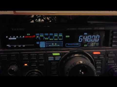 Radio Caroline hard near Oslo, Norway