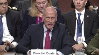 Reed Questions Director Coats about Russia Probe at SASC Hearing on Worldwide Threats