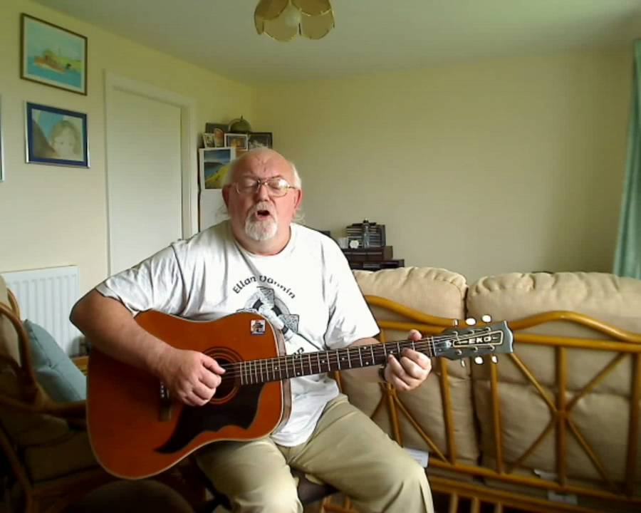 Guitar Farewell To Carlingford Including Lyrics And Chords Youtube