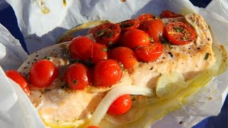 Simple Tasty Salmon In The Oven.