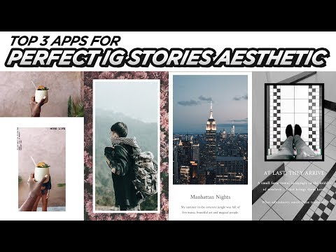 Top 3 Apps For PERFECT Instagram Stories | EASY Aesthetic Edits | DevanOnTech