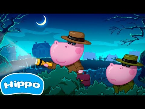 Hippo 🌼 Juegos para Niños Super Spy 🌼Juego de dibujos animados para los niños