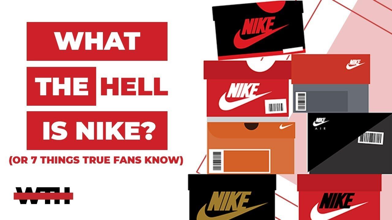 Esmerado Corte de pelo estimular  7 Facts Every TRUE Nike Fan Should Know   WTH - YouTube