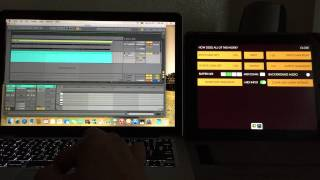 Yosemite MIDI Over Bluetooth with Ableton Live