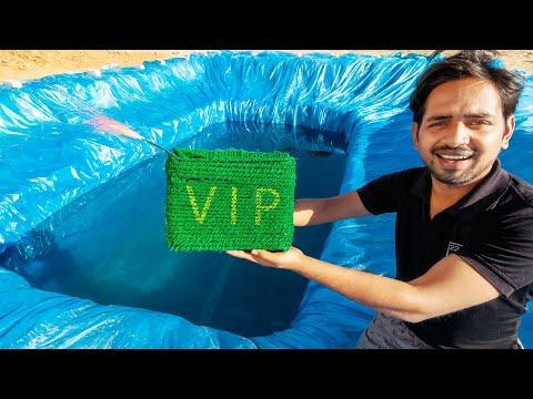 बड़े VIP ने पानी में मचाया धमाल - Biggest Vip Underwater