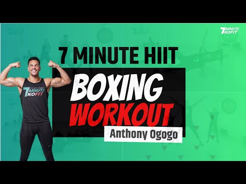 7 Minute Hiit Boxing Workout for Beginners I 7 Minute KOFIT
