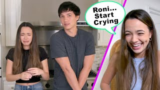 Telling My Twin What To Say Prank - Merrell Twins