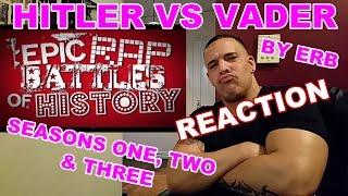 Epic Rap Battles Hitler vs Vader Reaction