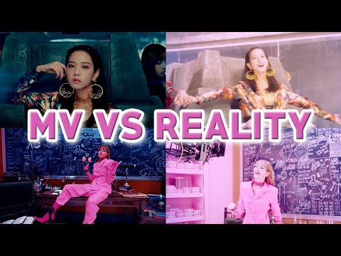 BLACKPINK MV vs