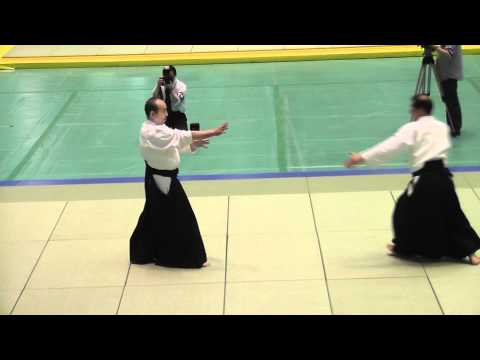 Shimamoto Katsuyuki Shihan 8th Dan Aikikai