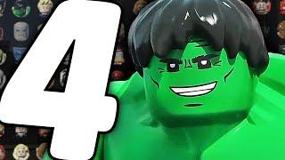 Все Персонажи - LEGO Marvel's Avengers - Часть 4