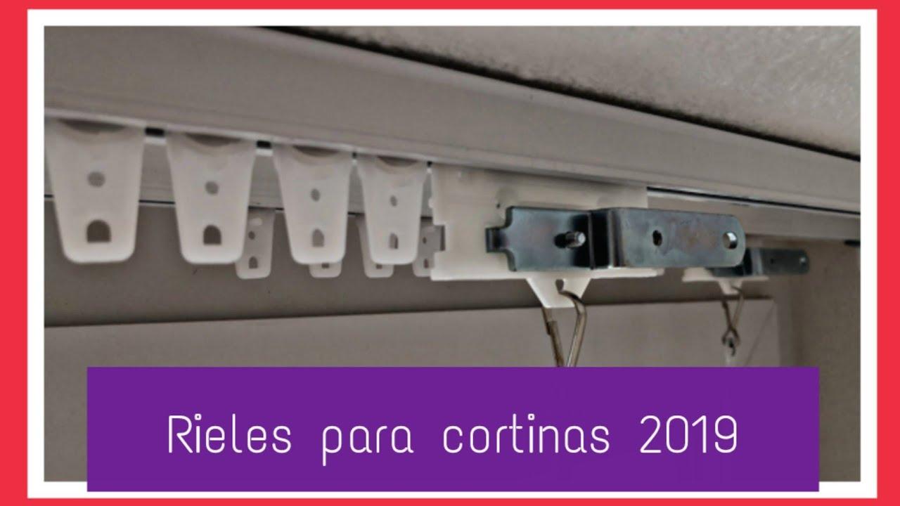 Rieles Para Cortinas 2019 2020 Youtube
