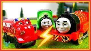 Поїзди для дітей Томас і друзі поїзд падає - іграшки поїзда збій - іграшки поїзда для дітей