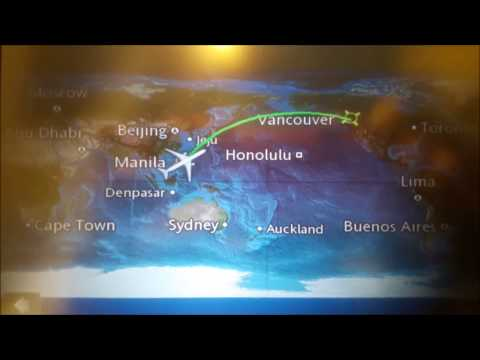 FLIGHT 2015: The Philippines To Canada
