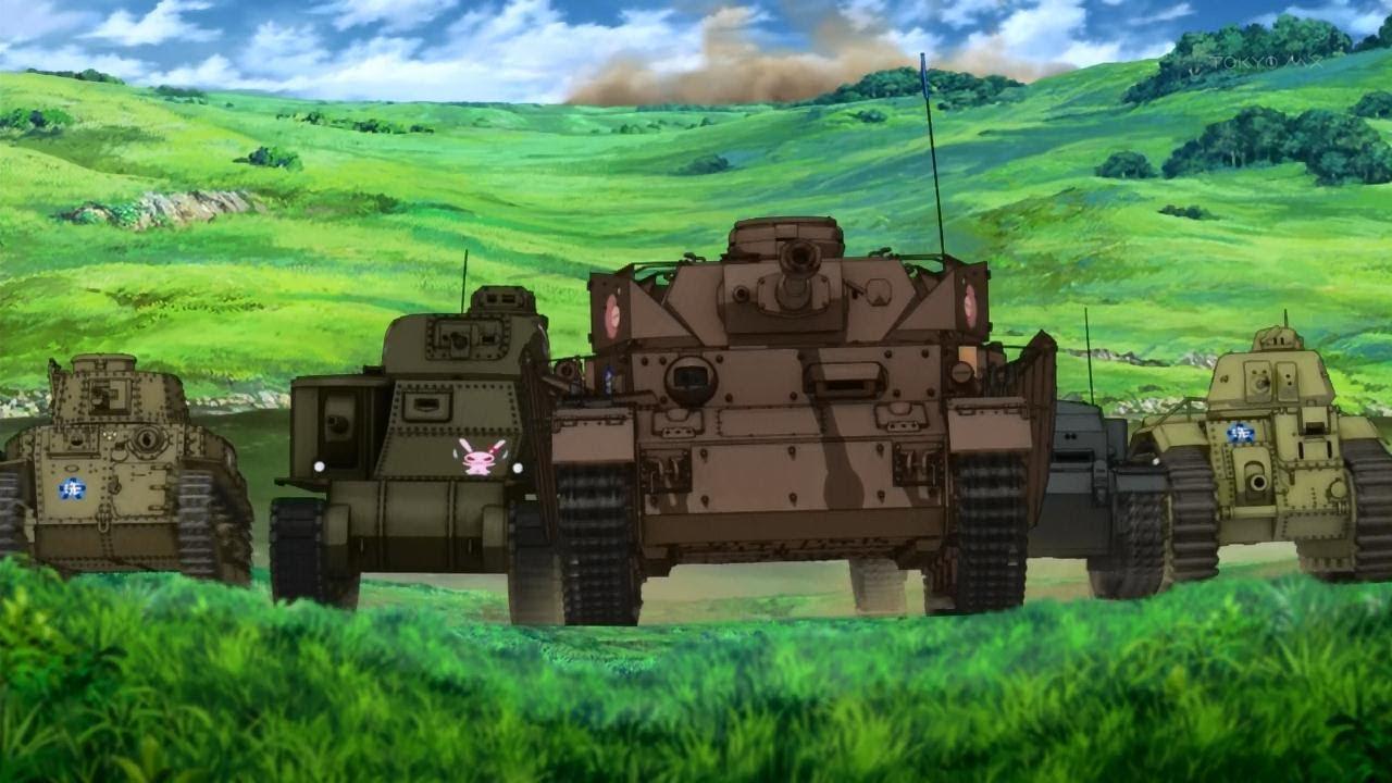 Girls Und Panzer : (Black Blade)