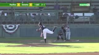 Yuki Yasuda hitting homerun / 安田裕希選手のホームラン