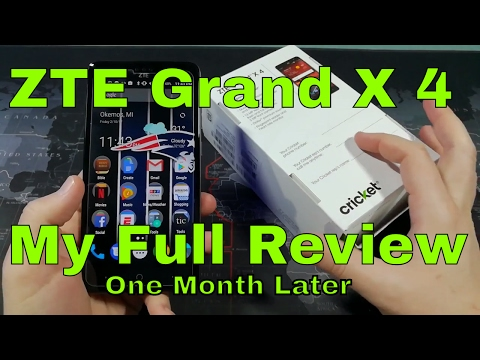 ZTE Grand X 4 - My Full Review - Worth $109?