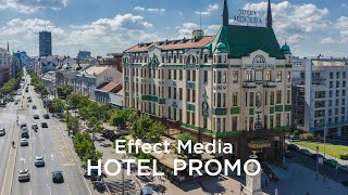 Hotel Moskva - Day and night experience [Video by Effect Media]