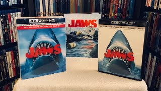 Jaws 4K BLU RAY REVIEW + Unboxing