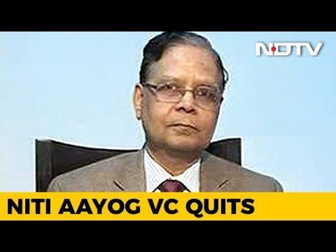 Niti Aayog Vice-Chairman Arvind Panagariya Quits, Will Return To Academia