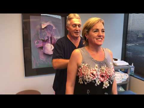 FT  Myers FL Lady Comes To Houston Chiropractor Dr Gregory Johnson For Headache Relief