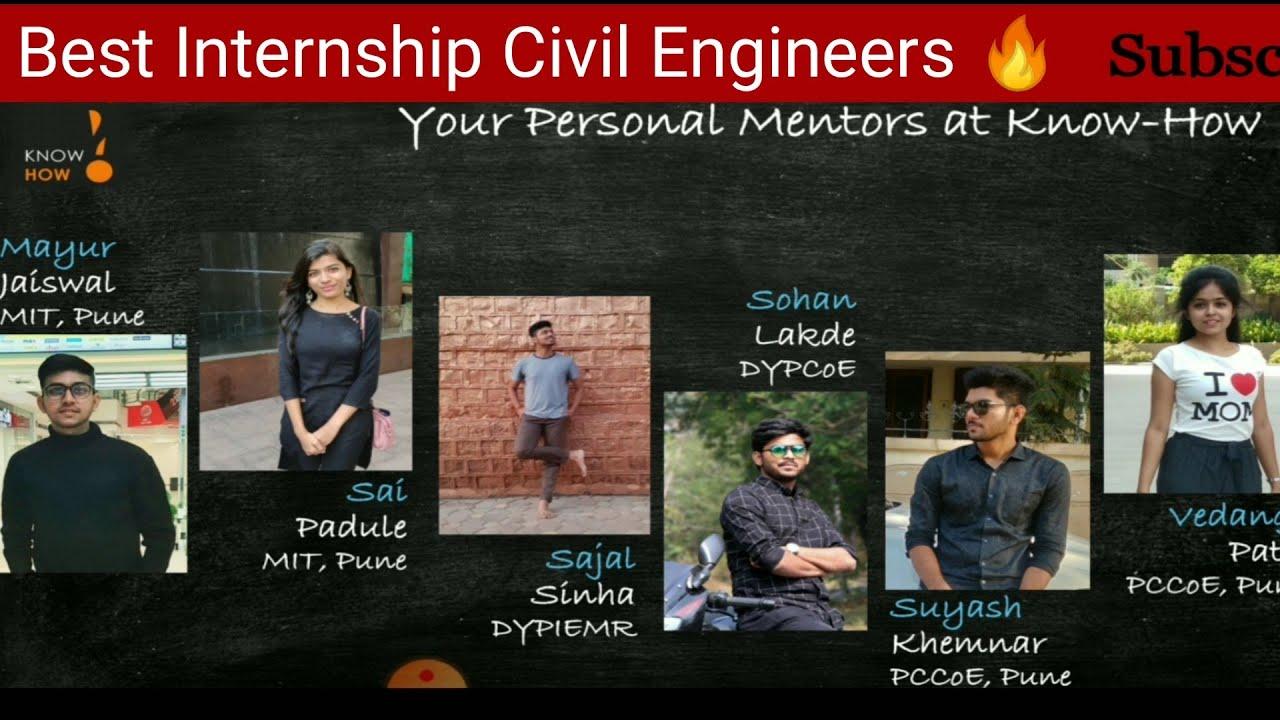 Online Internship for Civil Engineers Batch -11 || Why Internship is so important