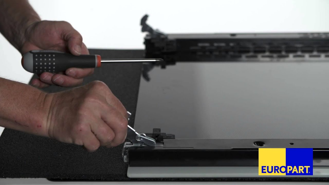 Aeg Kühlschrank Scharnier Defekt : Wie tauscht man die türscharniere eines backofens youtube