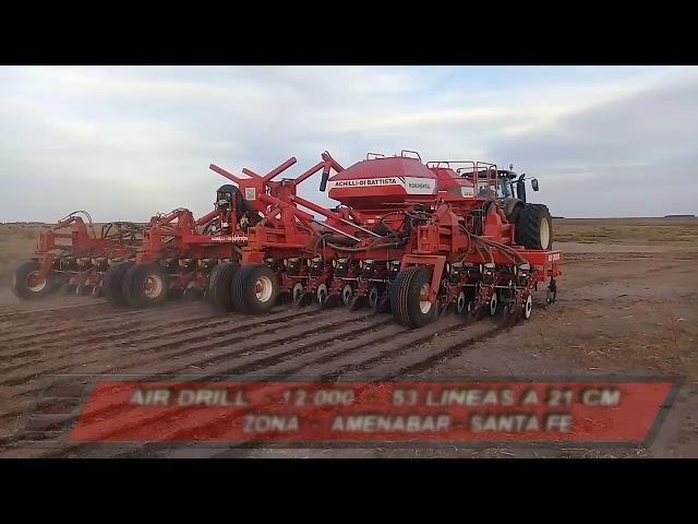 Sembradora Monumental Air Drill 12000, granos finos zona Amenabar (Sta Fe)