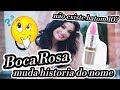 Bianca Andrade Muda A História Do Porque Boca Rosa