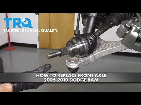 How to Replace Front Driver Side Axle 2006-10 Dodge RAM