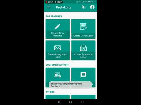 Best Resume Builder App 2019 - Features Overview - YouTube