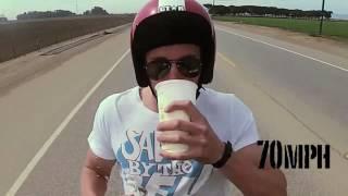 Drink milkshake at 100 mph