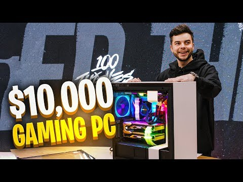 UNBOXING MY NEW $10,000 PC! (from NZXT)