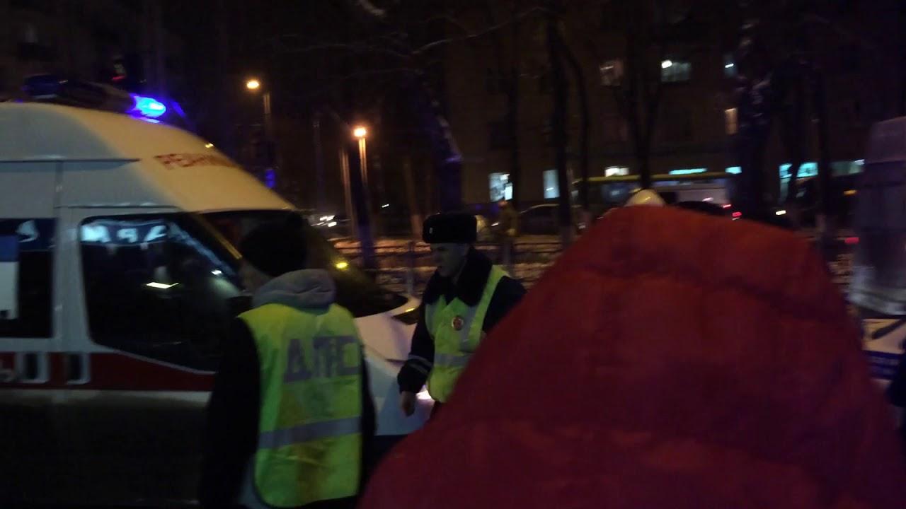 Смертельное ДТП на Перекрестке Октябрьского проспекта и Труда 3 ноября