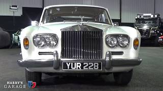 Ebay Rolls Royce Silver Shadow 1 arrives in the garage..