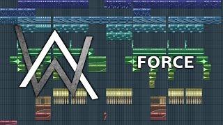Alan Walker - Force - FL Studio Remake + FLP