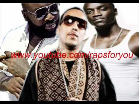 French Montana - Give it to em (Remix) featuring Rick Ross & Akon