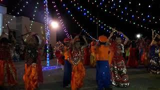 Global School Rahuri-Dandiya Students