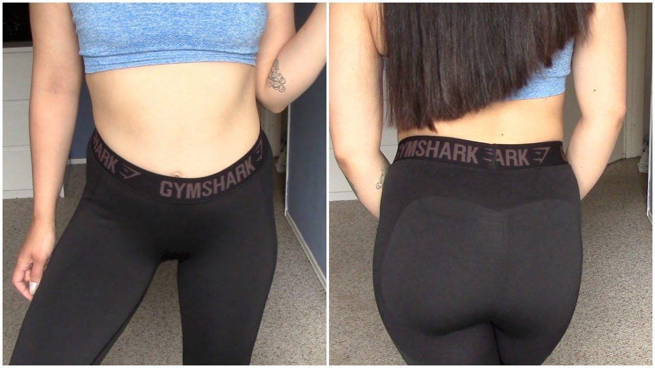 GYMSHARK FLEX LEGGINGS ♡ TRY-ON HAUL - YouTube 678afd2a4b6