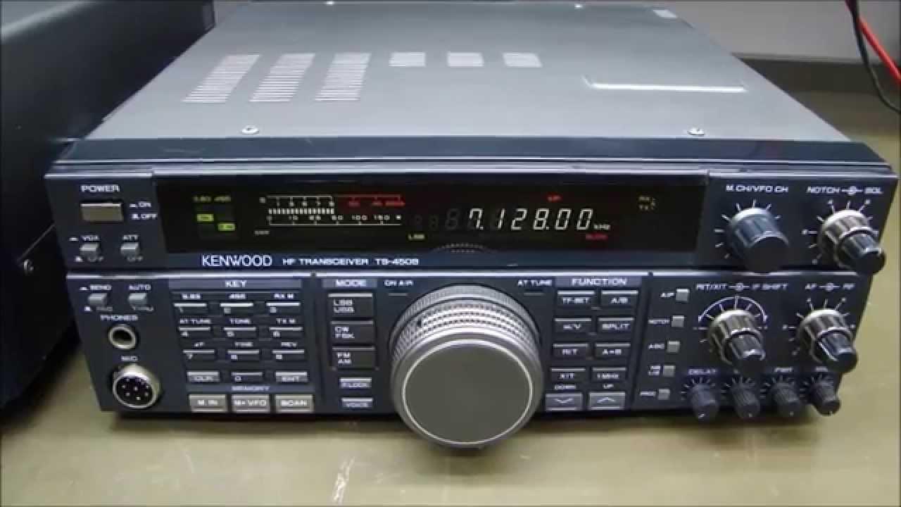 ALPHA TELECOM: KENWOOD TS-450SAT BAIXA SELETIVIDADE + REVISÃO AT e ALINHAMENTO