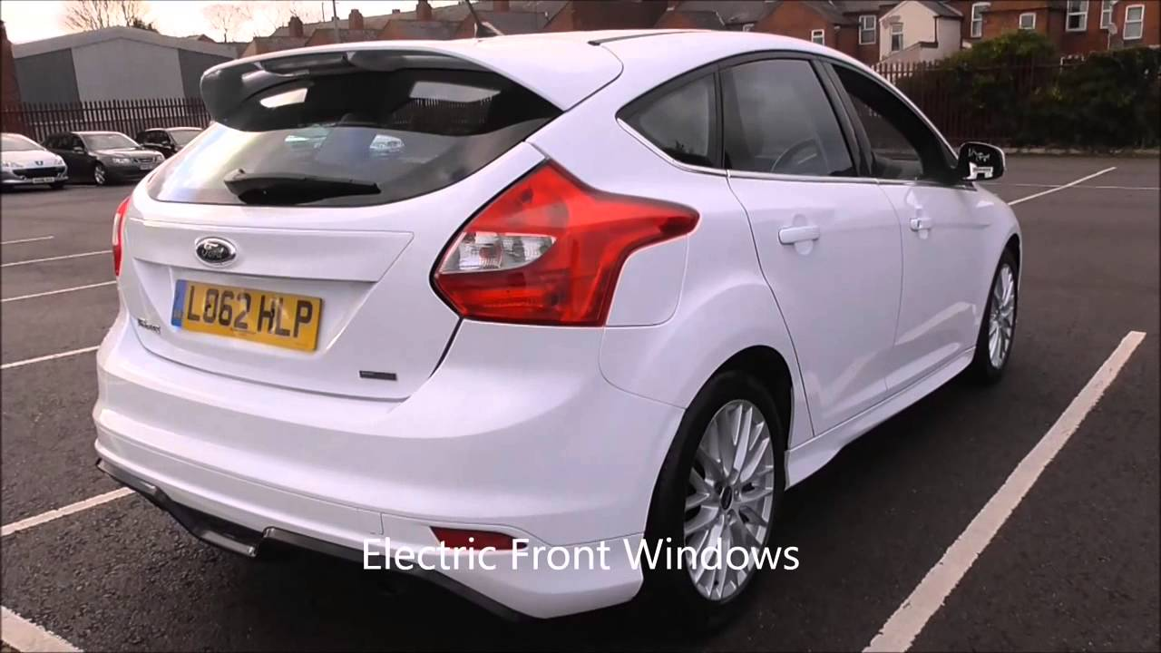 ford focus 1.6 182 ecoboost zetec s 5dr u106472 - youtube